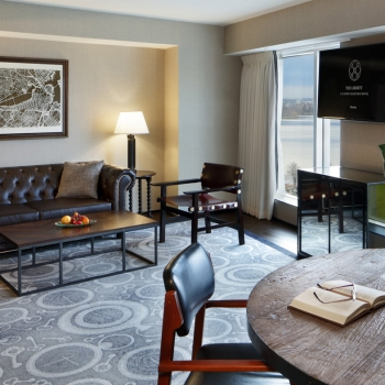 Charles River Suite Living Room