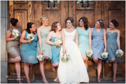 Bridesmaids Wooden Door
